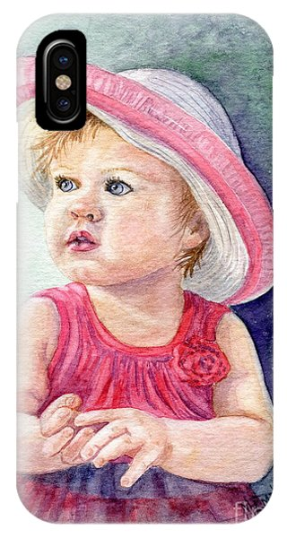 Girls In Pink iPhone Case - Oh Baby by Marilyn Smith