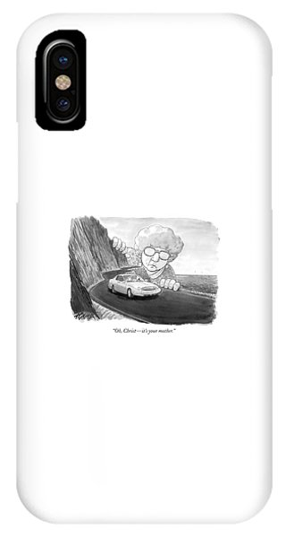 Oh, Christ - It's Your Mother IPhone Case