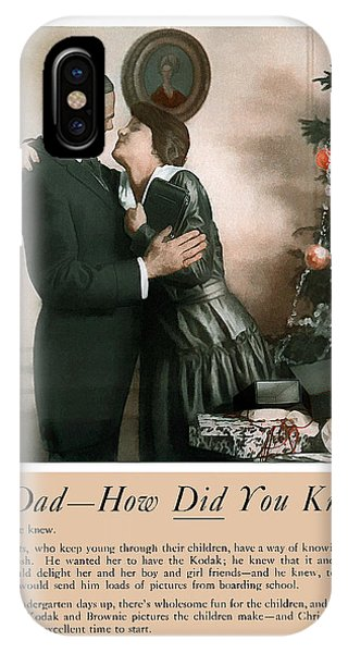 Oh Dad How Did You Know? 1917. IPhone Case