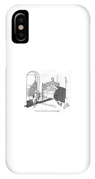 Oh, Dear! And We Didn't Get Anything For Him! IPhone Case