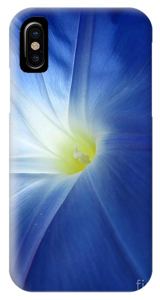 Oh Heavenly Blue 1 IPhone Case