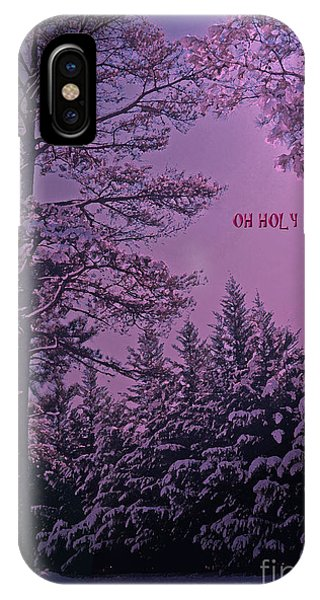 Oh Holy Night IPhone Case