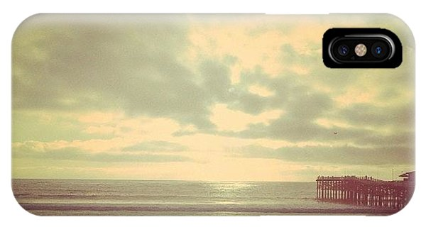 Beach iPhone Case - Oh How I've Missed This Place! #sd by Cortney Herron
