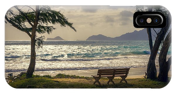 IPhone Case featuring the photograph Oahu Sunrise by Steven Sparks