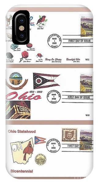 Ohio Bicentennial First Day Covers IPhone Case