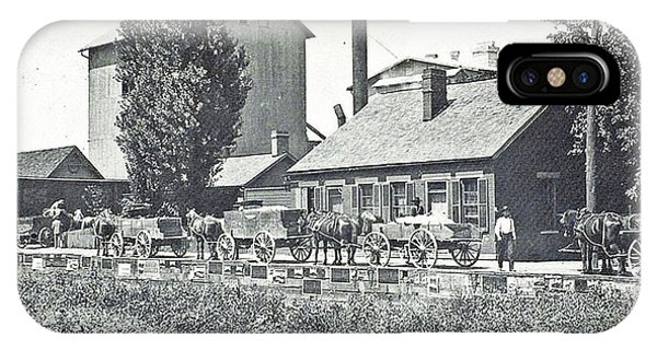 Ohio Erie Canal - Circa 1911 IPhone Case
