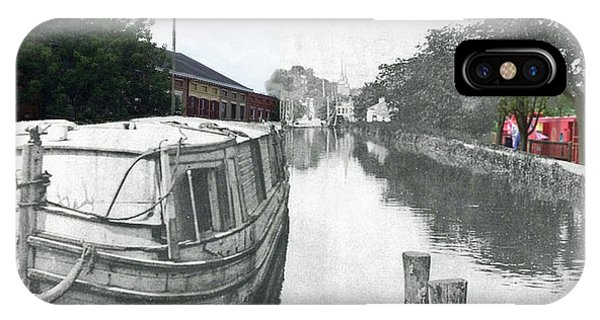 Ohio Erie Canal - Retouched IPhone Case