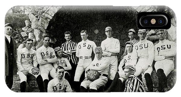 Sports iPhone Case - Ohio State Football Circa 1890 by Jon Neidert