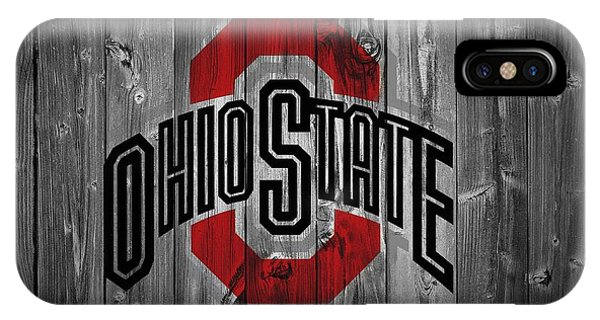 Basketball iPhone Case - Ohio State University by Dan Sproul