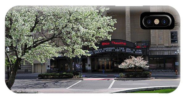 D45l42 Ohio Theatre Photo IPhone Case