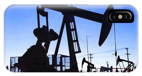 Oil Fields IPhone Case
