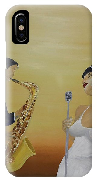 Oil Msc 001  IPhone Case