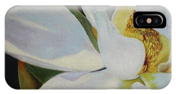 Oil Painting - Sydney's Magnolia IPhone Case