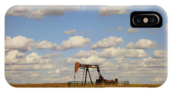 Oil Pump Jack On The Prairie IPhone Case