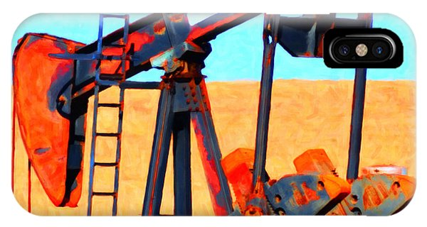 Oil Pump - Painterly IPhone Case