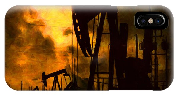 Oil Pumps IPhone Case