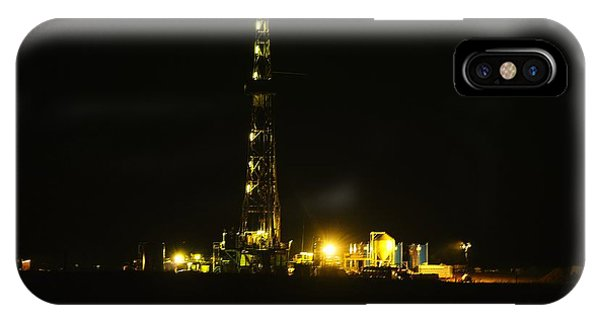 Killdeer iPhone Case - Oil Rig by Jeff Swan