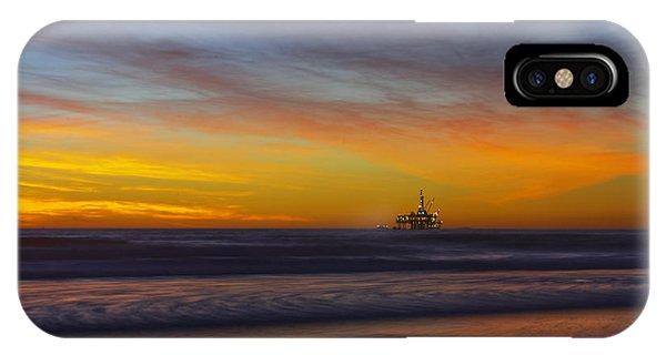 Oil Rig Platform IPhone Case