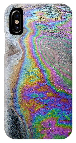 Oil Slick On Water IPhone Case