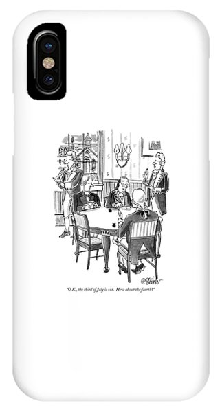 O.k., The Third Of July Is Out.  How IPhone Case