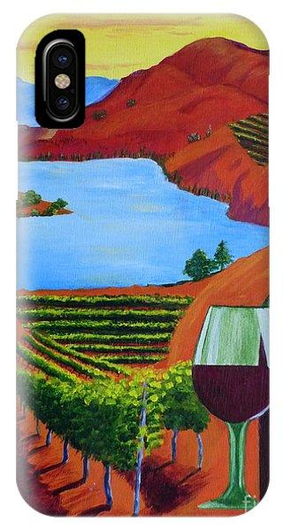Okanagan Wine Country IPhone Case