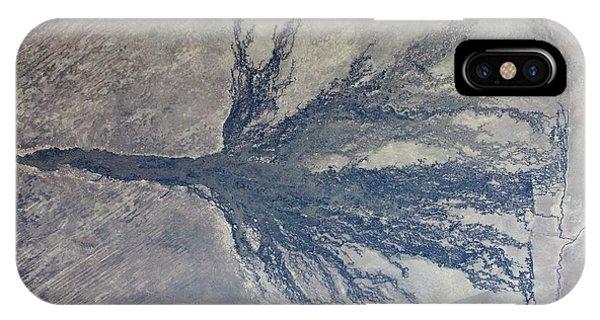 Delta iPhone Case - Okavango by Nasa/science Photo Library
