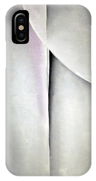 O'keeffe's Line And Curve IPhone Case