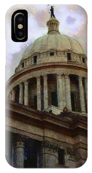 Oklahoma Capital IPhone Case