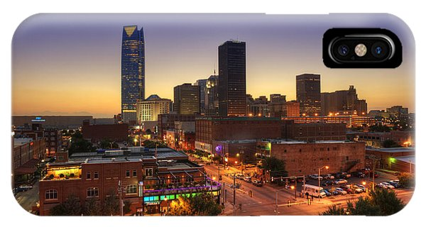Oklahoma City Nights IPhone Case