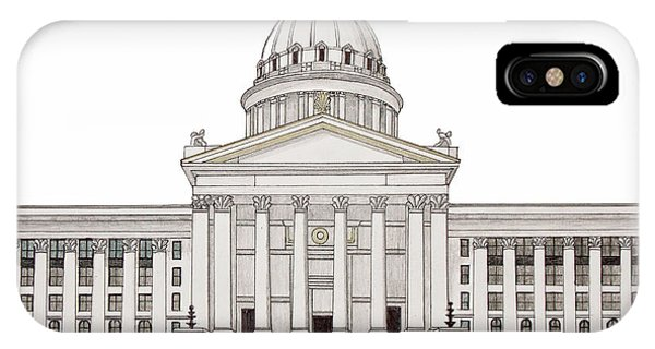 Oklahoma State Capitol IPhone Case