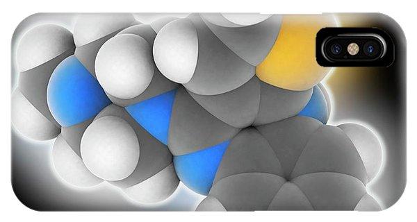 Olanzapine Drug Molecule Phone Case by Laguna Design
