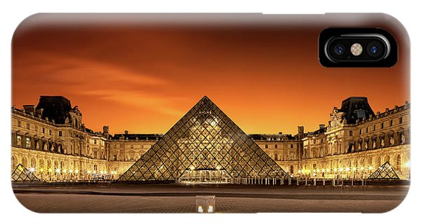 Louvre iPhone Case - Old & New by Christophe Kiciak