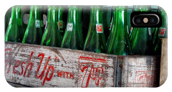 Old 7 Up Bottles IPhone Case
