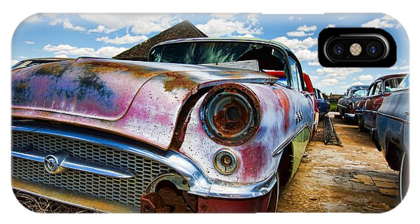 Old Abandoned Cars IPhone Case