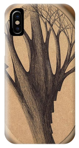 Old Age Lies In Wood IPhone Case