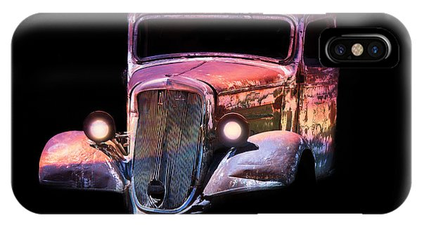 Old Antique Classic Car IPhone Case
