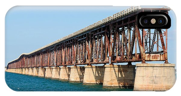 Old Bahia Honda Bridge 2 IPhone Case