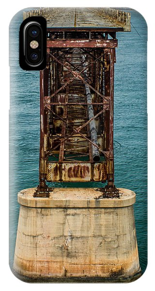 Old Bahia Honda Bridge IPhone Case