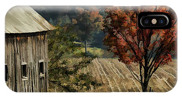 Old Barn And Field IPhone Case