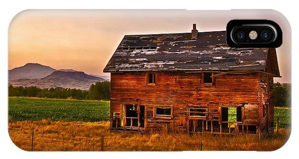 Old Barn At Sunrise IPhone Case