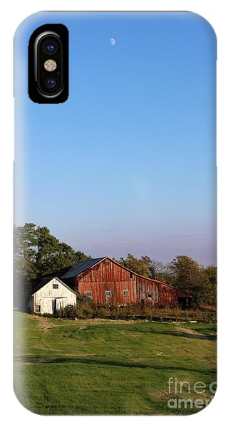 Old Barn At Sunset IPhone Case