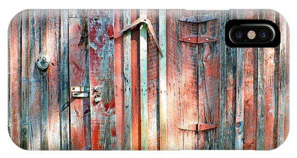 Old Barn Door 2 IPhone Case
