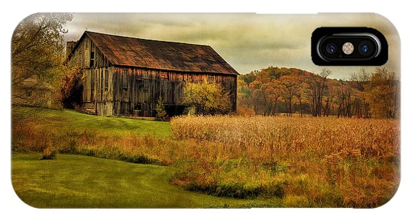 Old Barn In October IPhone Case