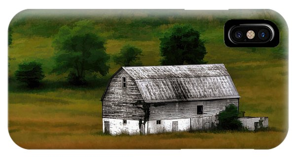 Old Barn Near Buckhannon IPhone Case