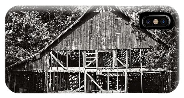 Old Barn On Hwy 161 IPhone Case