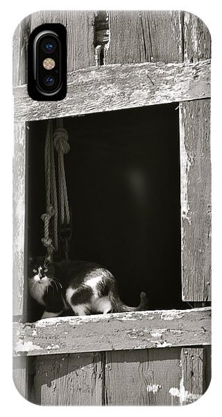 Old Barn Window IPhone Case