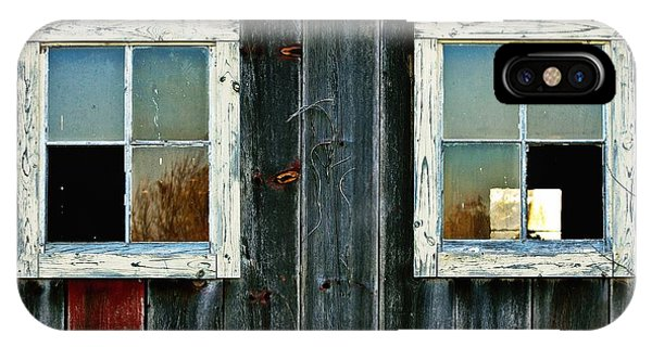 Old Barn Windows IPhone Case