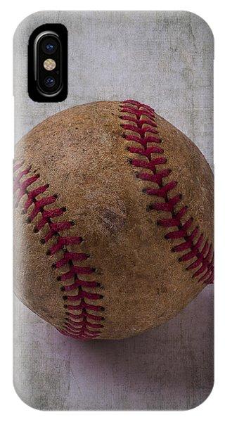 Old Baseball IPhone Case