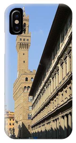 Old Bell Tower Florence IPhone Case