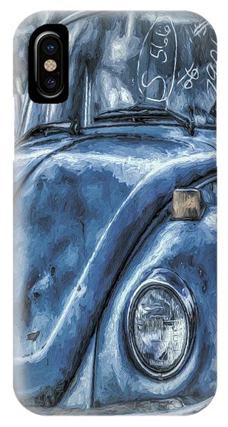 Old Blue Bug IPhone Case